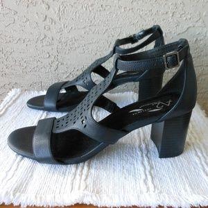 AEROSOLES Shoes - Comfort Ankle Strap Sandal 'Dotted Line' NWOT